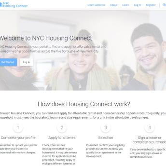 Housing Connect 2.0